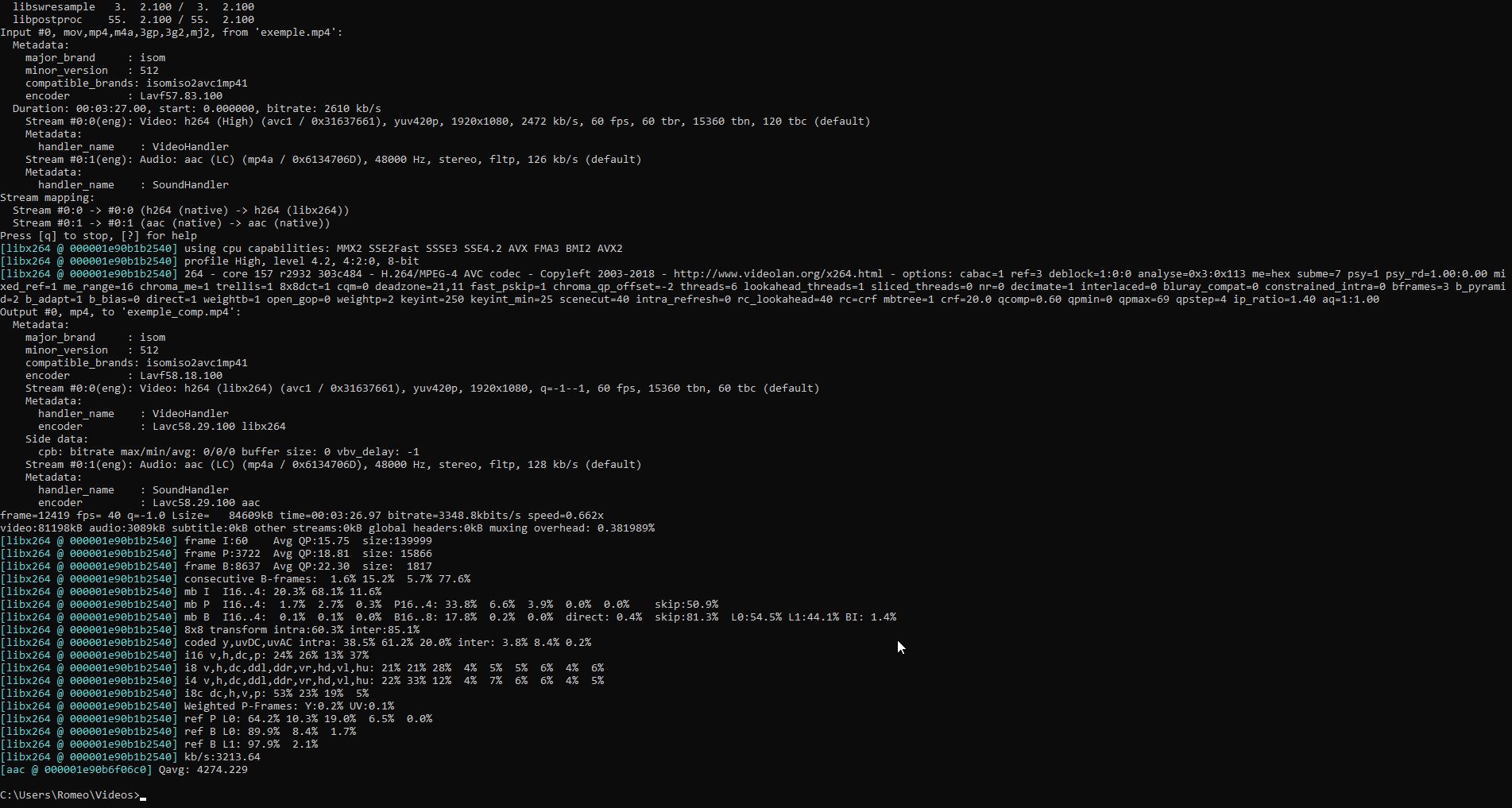 Compression vidéo comme un pro~ Cmd_2013
