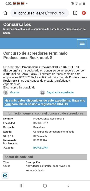 """ROCKnROCK monta """"nuevos"""" festivales 20210713"""