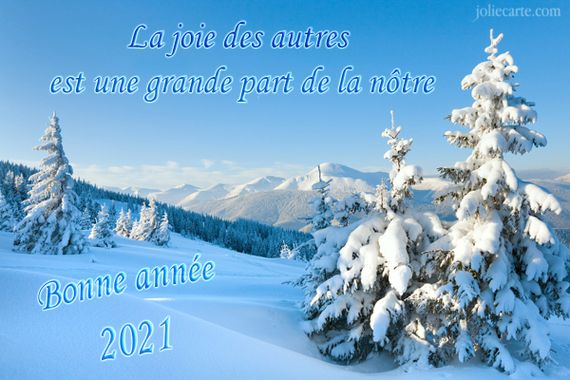 Bonne et sainte année 2021 ! Bonann10