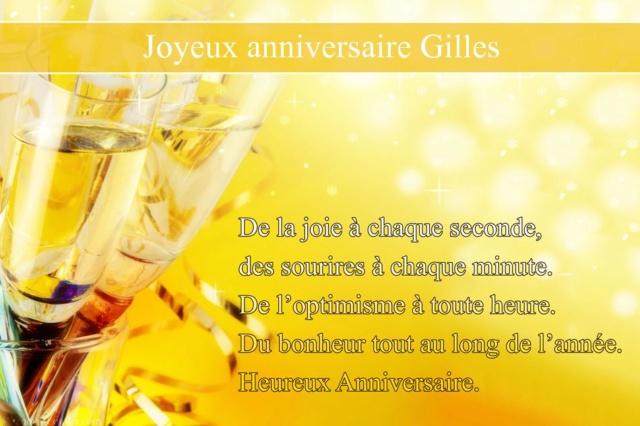 * Joyeux anniversaire à notre frère GILLES ! * Gilles10