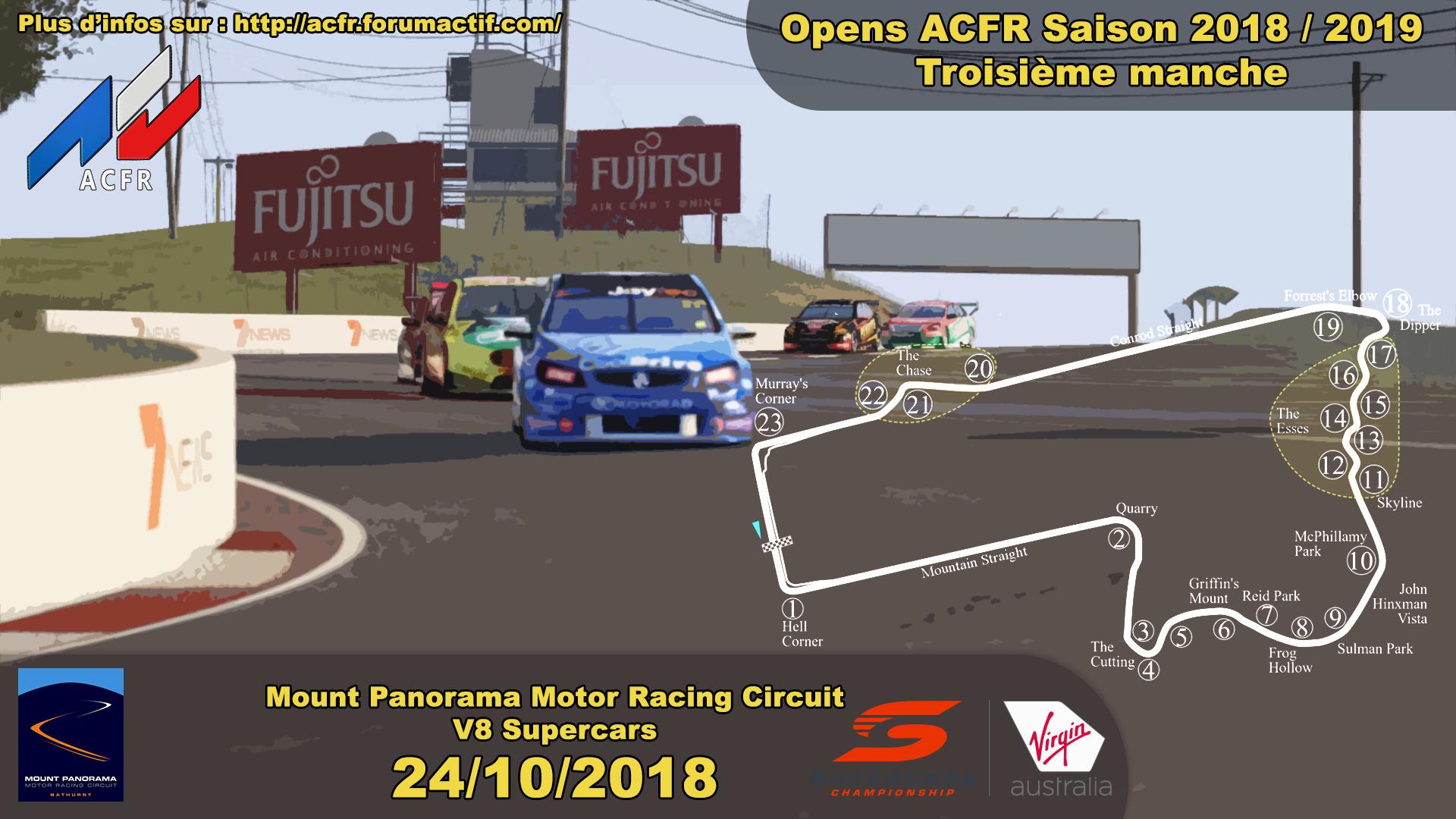 [Open ACFR] 24/10/2018 - Manche 3 saison 2018/2019 - Bathurst Mount Panorama - V8 Supercars Open_310
