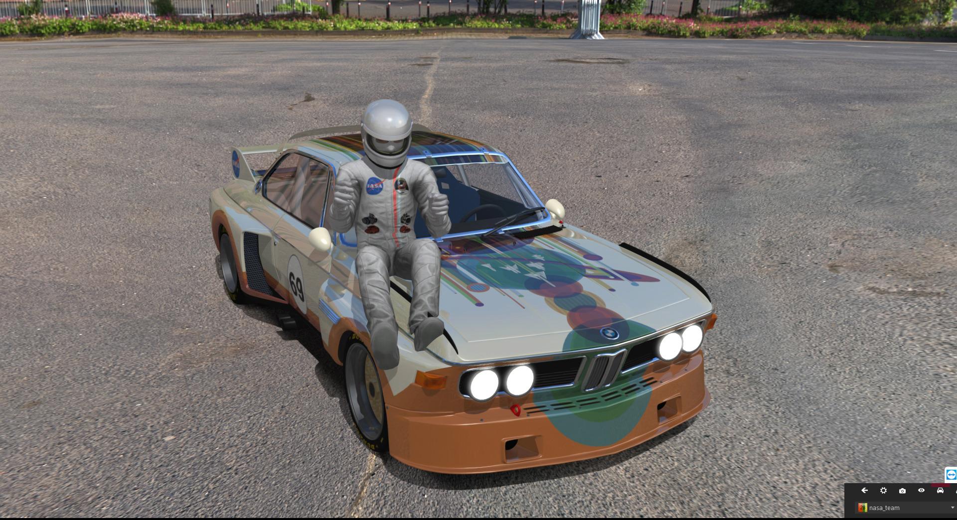 Championnat BMW CSL 3.5 Toto10