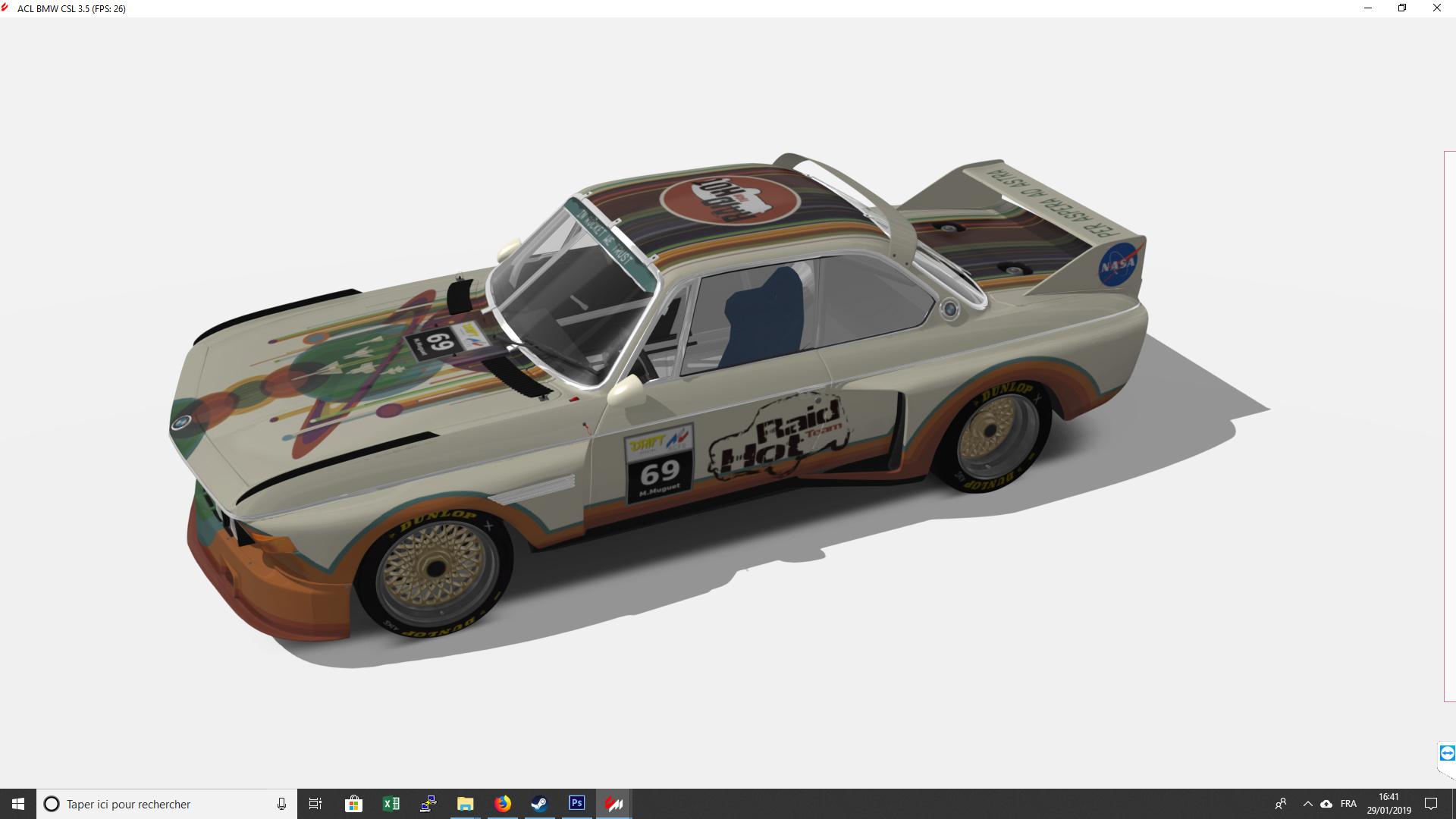 Recherche de co-équipié championnat BMW 3.5 CSL Toto11