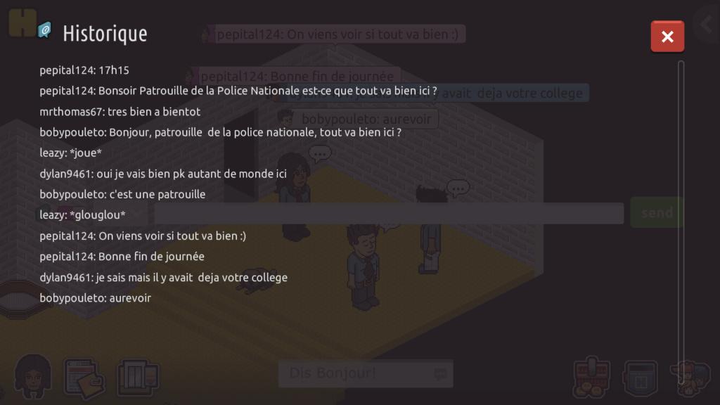[C.M] Rapports de Patrouille de Pepital124  D3344110