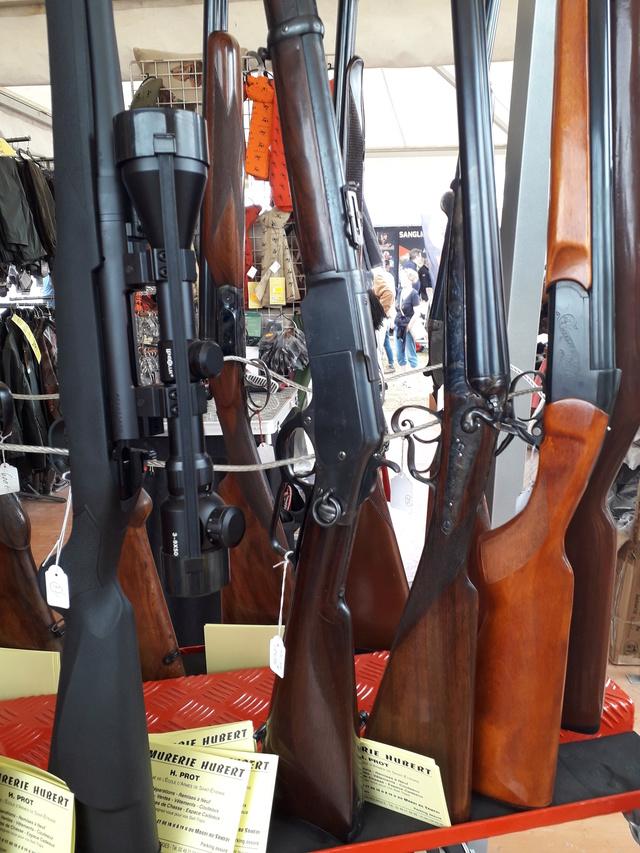 Winchester au Game fair  00411