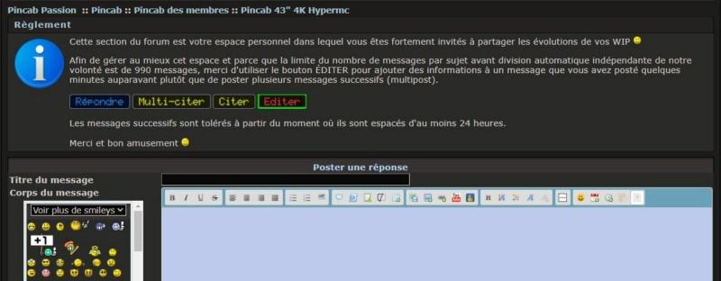 """Pincab 43"""" 4K Hypermc Editeu10"""