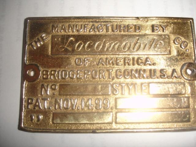 Locomobile Nameplate / Badges Namepl10