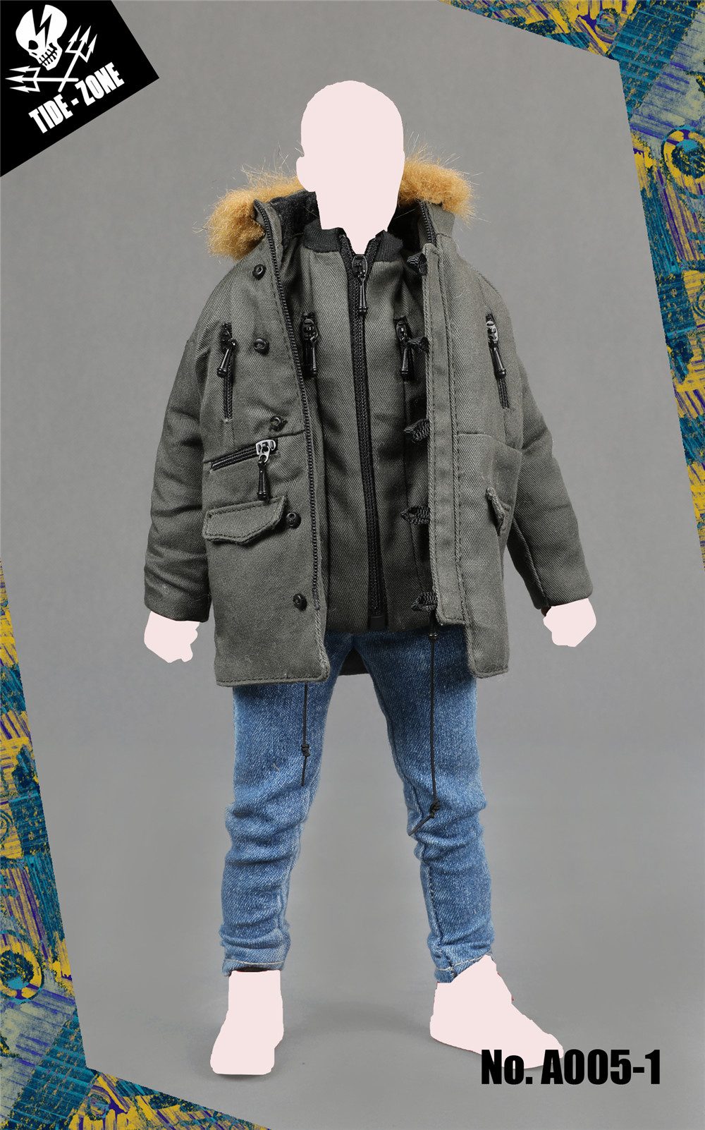 NEW PRODUCT: TIDE-ZONE: 1/6 scale Men's Clothing Sets (Various) 112