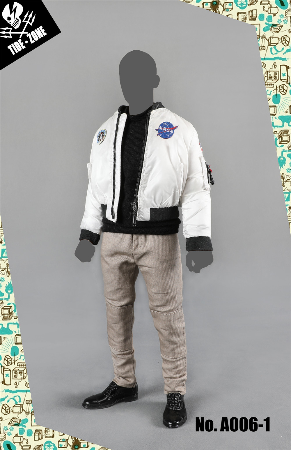 NEW PRODUCT: TIDE-ZONE: 1/6 scale Men's Clothing Sets (Various) 12284210
