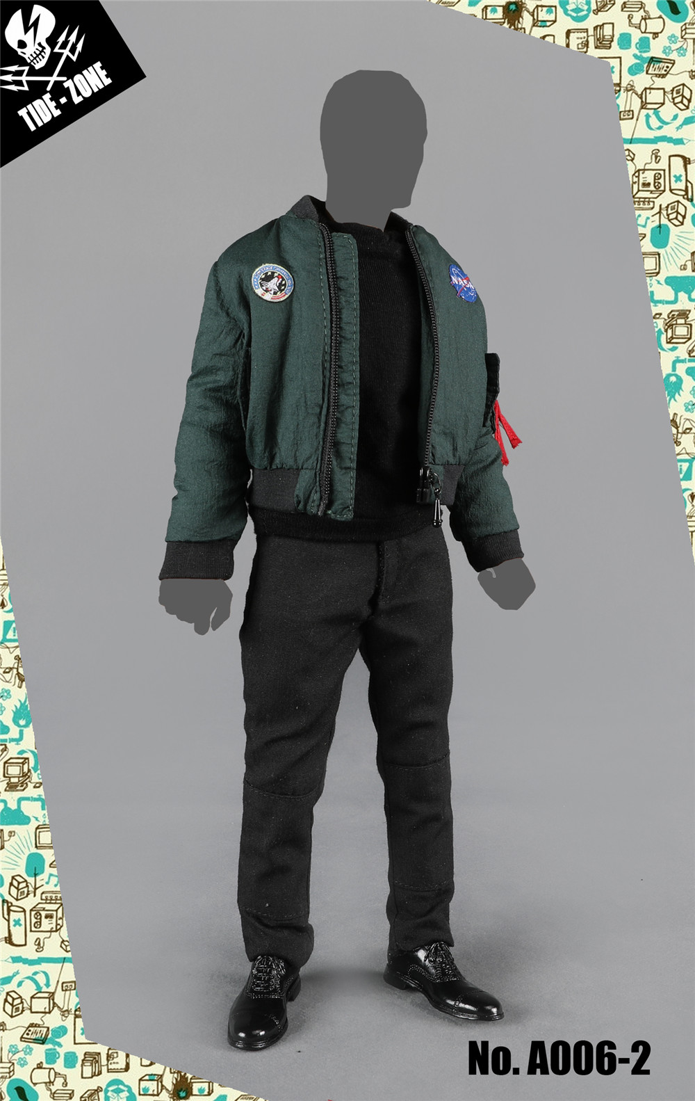 NEW PRODUCT: TIDE-ZONE: 1/6 scale Men's Clothing Sets (Various) 12293010