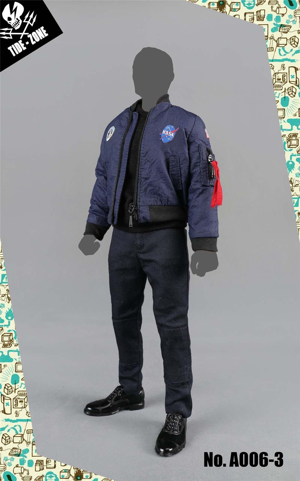 NEW PRODUCT: TIDE-ZONE: 1/6 scale Men's Clothing Sets (Various) 12300910