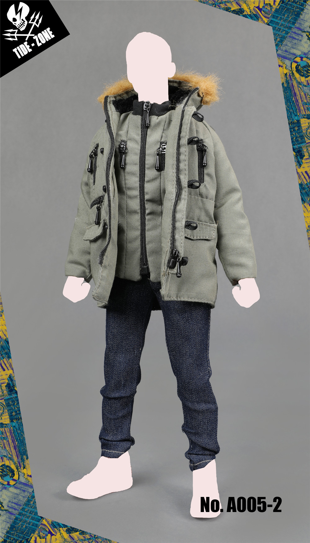 NEW PRODUCT: TIDE-ZONE: 1/6 scale Men's Clothing Sets (Various) 19315210