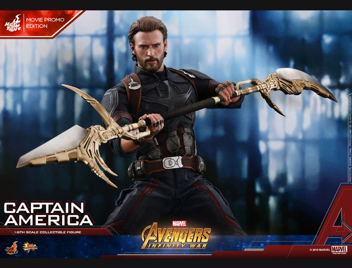 captainamerica - NEW PRODUCT: 1/6 - Hot Toys: MMS481 - Avengers: Infinity War - Captain America Nw152710