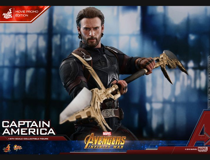 captainamerica - NEW PRODUCT: 1/6 - Hot Toys: MMS481 - Avengers: Infinity War - Captain America Nw152711