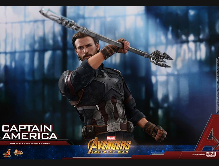 captainamerica - NEW PRODUCT: 1/6 - Hot Toys: MMS481 - Avengers: Infinity War - Captain America Nw152713