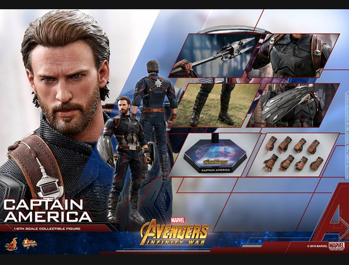 captainamerica - NEW PRODUCT: 1/6 - Hot Toys: MMS481 - Avengers: Infinity War - Captain America Nw152714