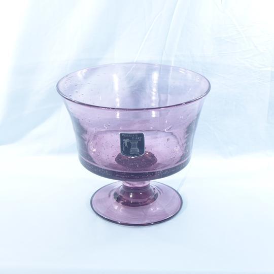 Vase et broc à eau Verrerie d'art de Avallon P1010110