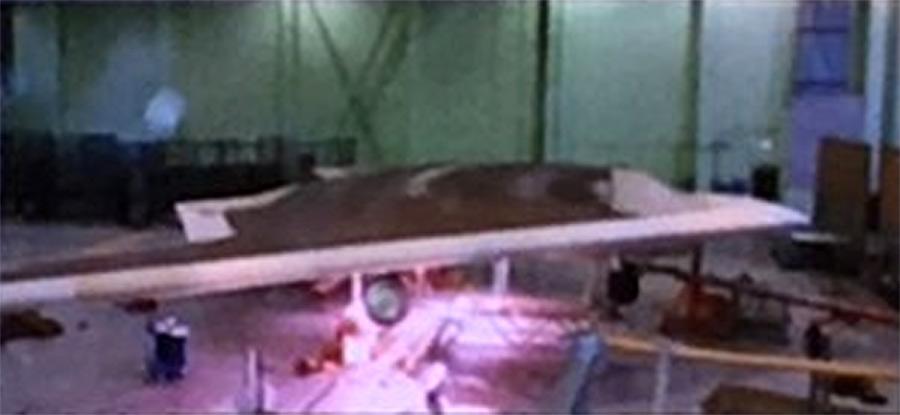 """S-70 """"Okhotnik"""" UCAV 000129"""