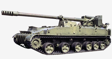 "2S43 ""Malva"" 152-mm self-propelled howitzer 002910"