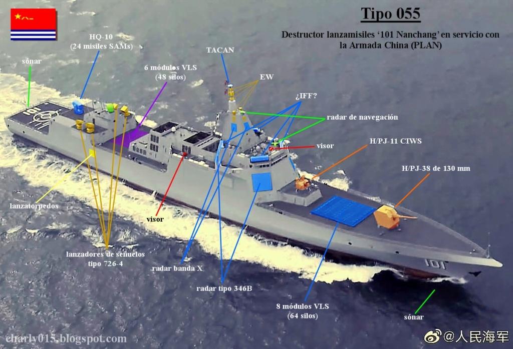 Type-055 DDG Large Destroyer Thread 003111