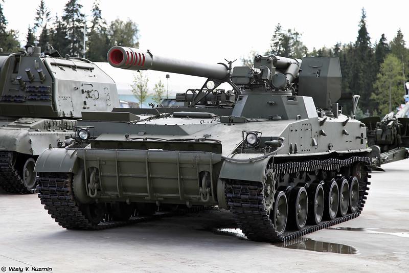 """2S43 """"Malva"""" 152-mm SP howitzer 005411"""