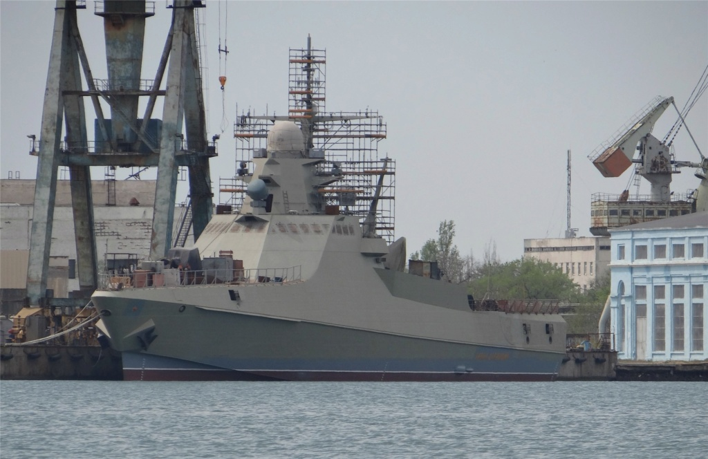 Project 22160 Bykov-class patrol ship - Page 20 05-74610