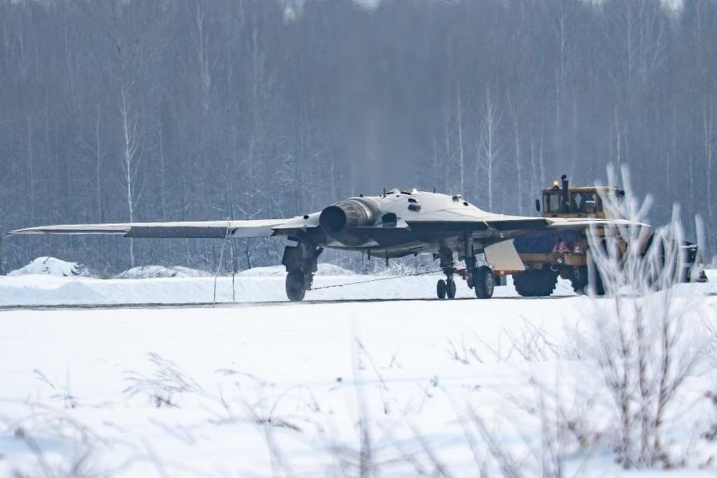 """S-70 """"Okhotnik"""" UCAV 2-42-110"""