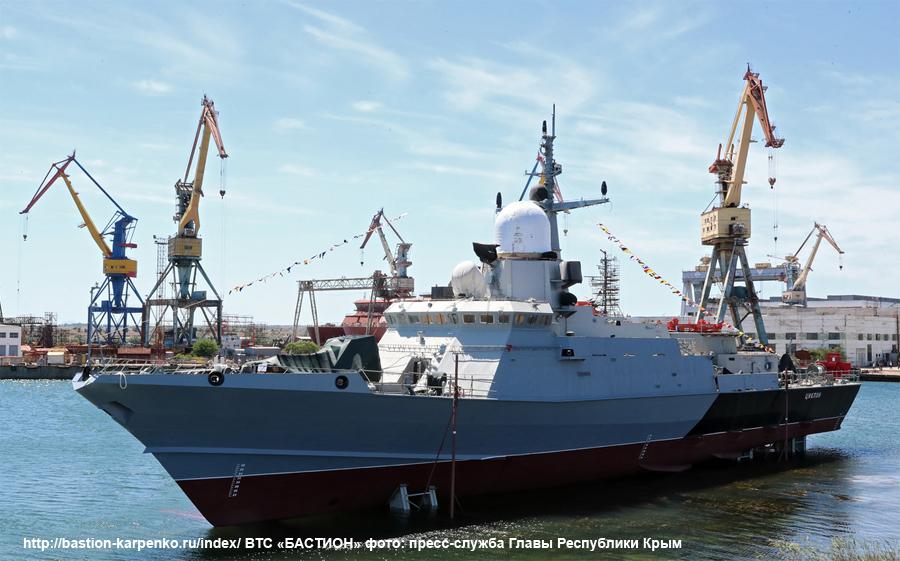 "Project 22800: ""Karakurt"" class missile ship - Page 35 22800_14"