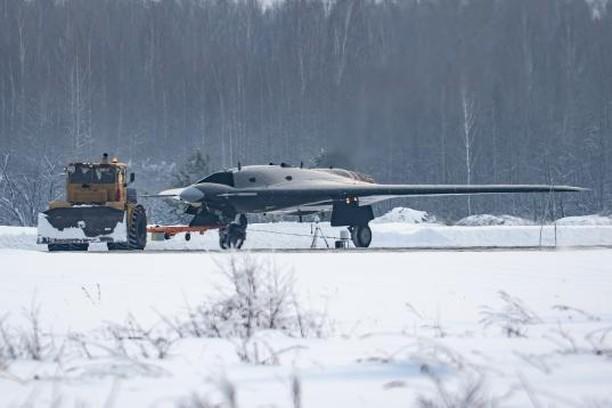 """S-70 """"Okhotnik"""" UCAV 3-2710"""