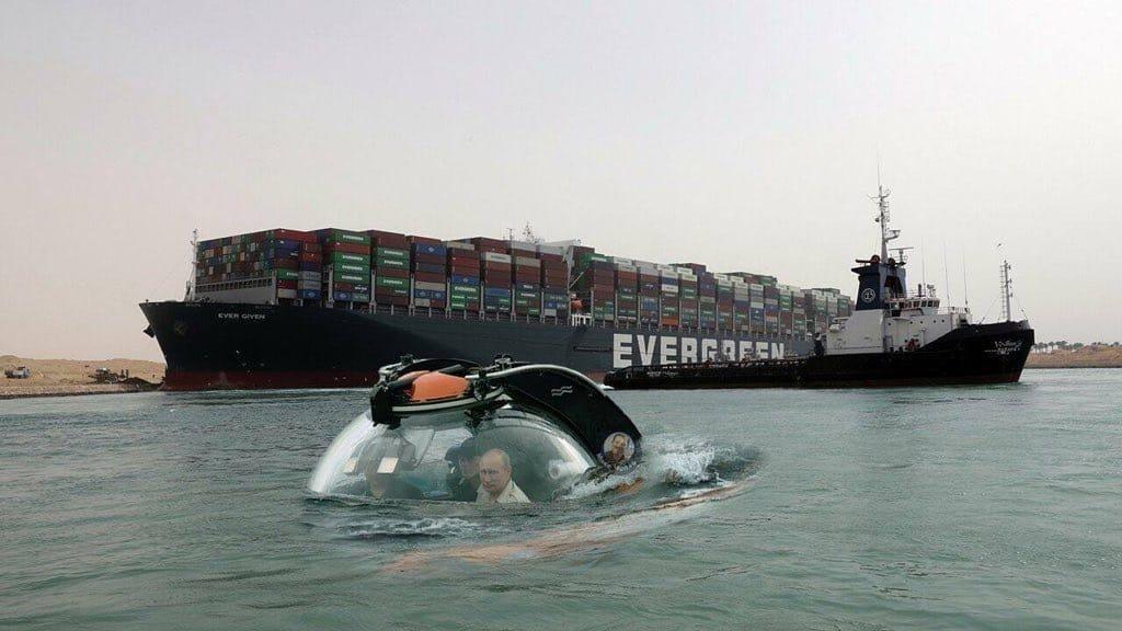 Suez Canal block March 2021 Exjbmw10