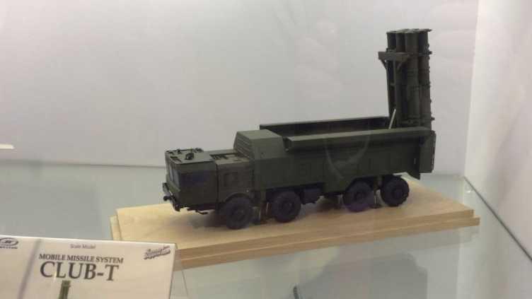 Ground-Based Kalibr Missile Klub-t11