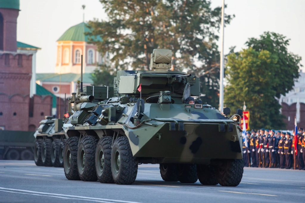 BTR-80/82A and variants: News - Page 11 Mars2010