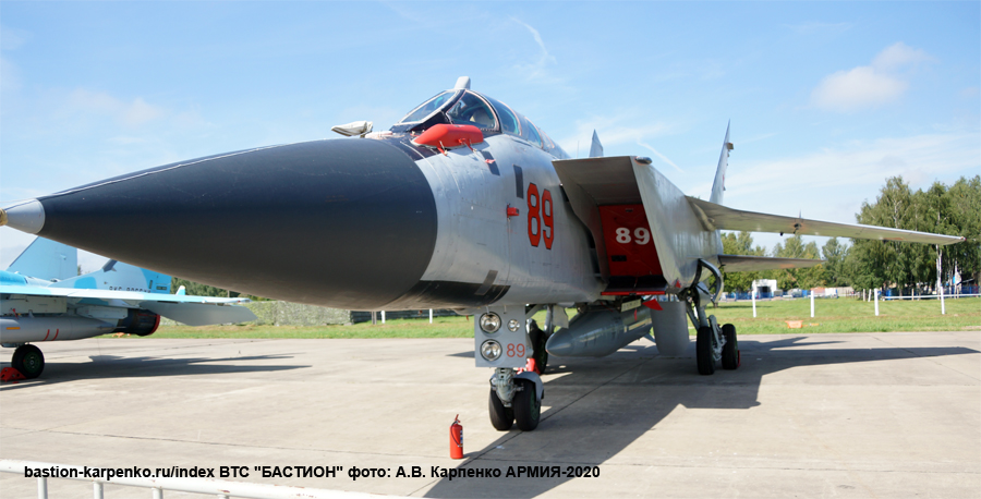 """Kinzhal"" hypersonic aviation-missile complex - Page 13 Mig-3111"