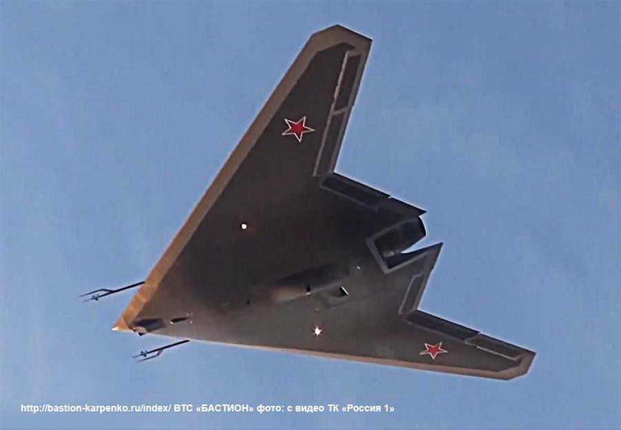 """S-70 """"Okhotnik"""" UCAV - Page 16 Ohotni16"""
