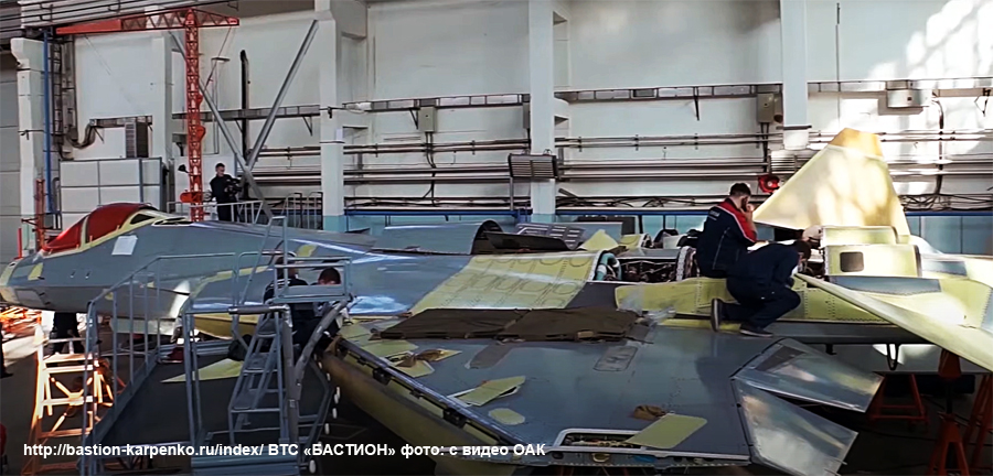 Su-57 Stealth Fighter: News #7 - Page 6 Su-57s12