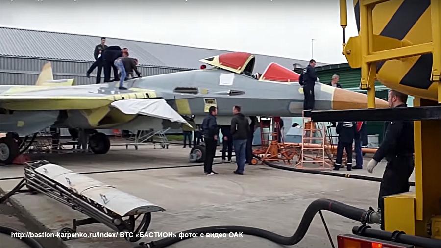 Su-57 Stealth Fighter: News #7 - Page 6 Su-57s14