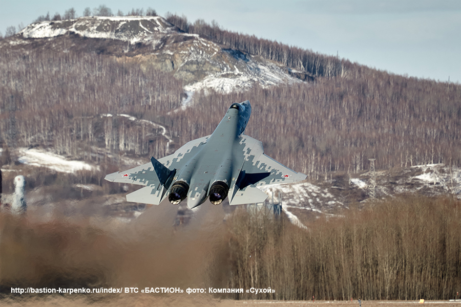 Su-57 Stealth Fighter: News #7 - Page 6 Su-57s18