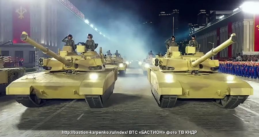 Korean People's Army: News - Page 8 Tank_k10