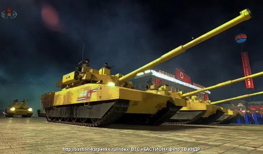 Korean People's Army: News - Page 8 Tank_k11