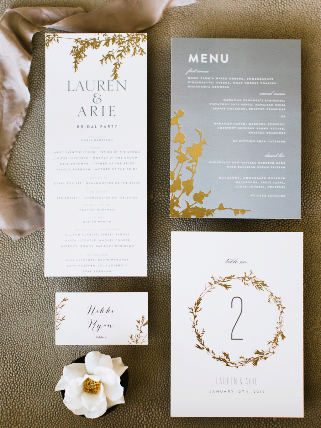 Arie Jr & Lauren Luyendyk - FAN Forum - Wedding - Discussion - Page 27 Knot1010