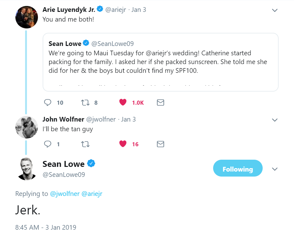 Arie Jr & Lauren Luyendyk - FAN Forum - Wedding - Discussion - Page 6 Sl510