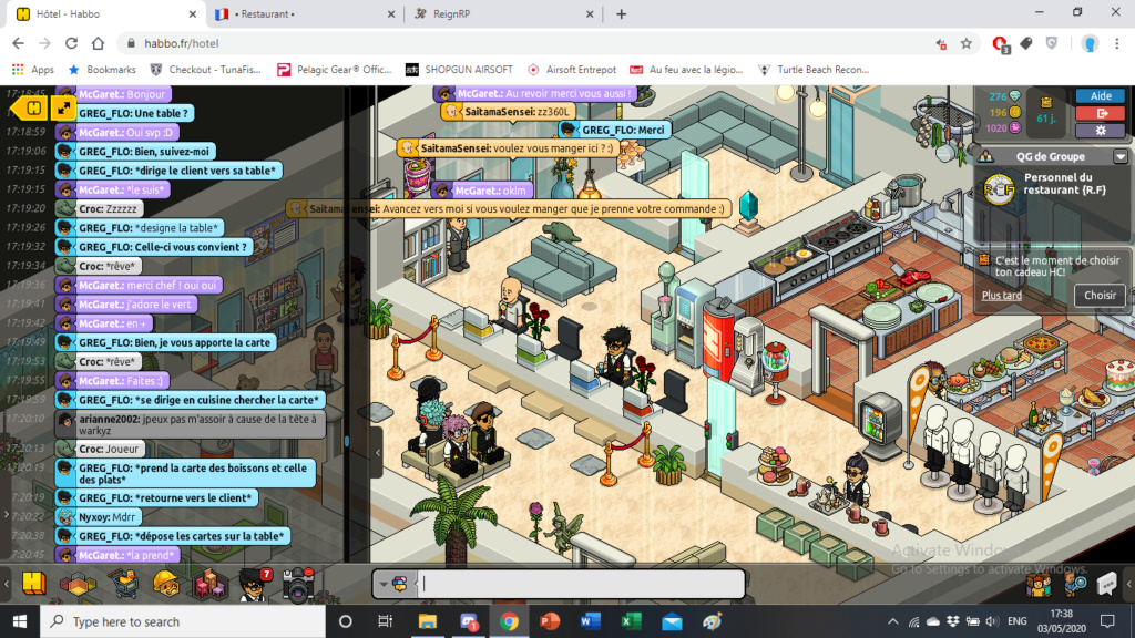 [R.] Rapports d'actions RP de GREG_FLO Screen83