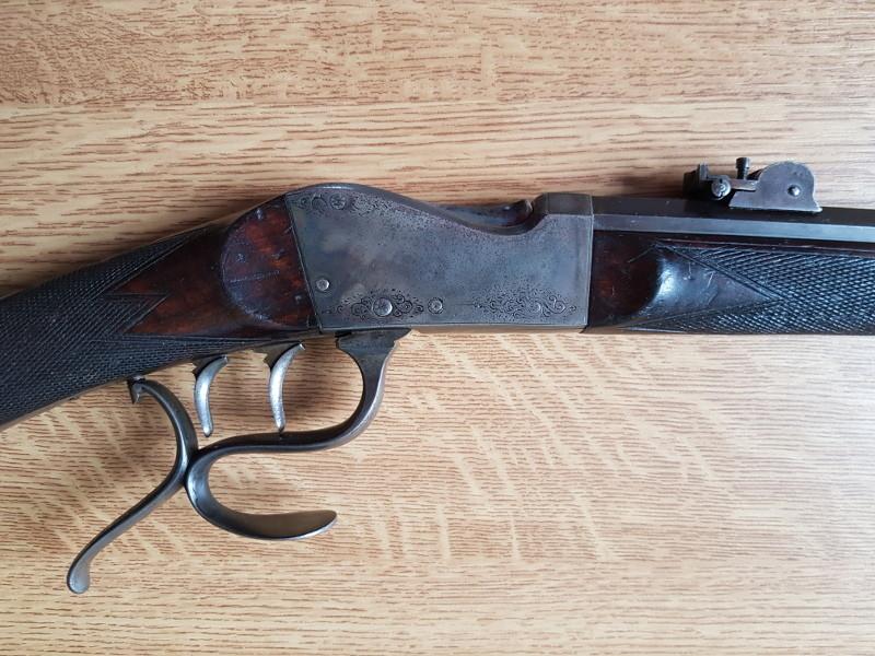 Une carabine de tir en 22lr d'origine inconnue, à restaurer. 3_boit10