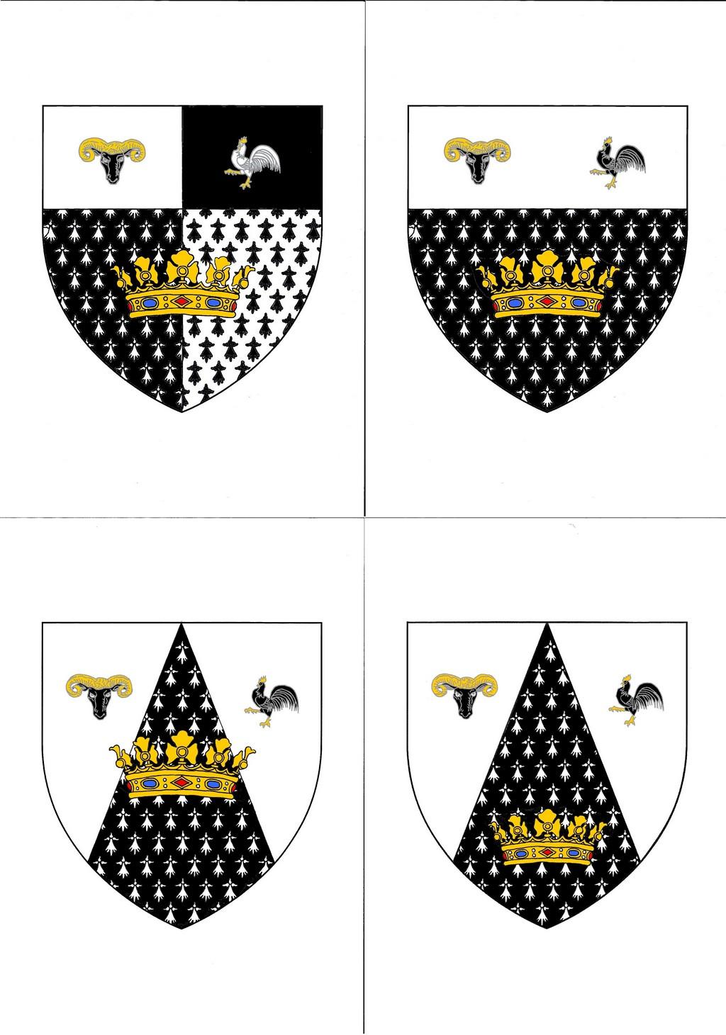 Création de nouvelles armoiries - Projet illustré - Page 2 Les_4_11