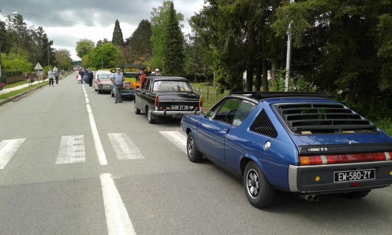 Embouteillage dans les rues de Rioz en Haute Saone 20190512