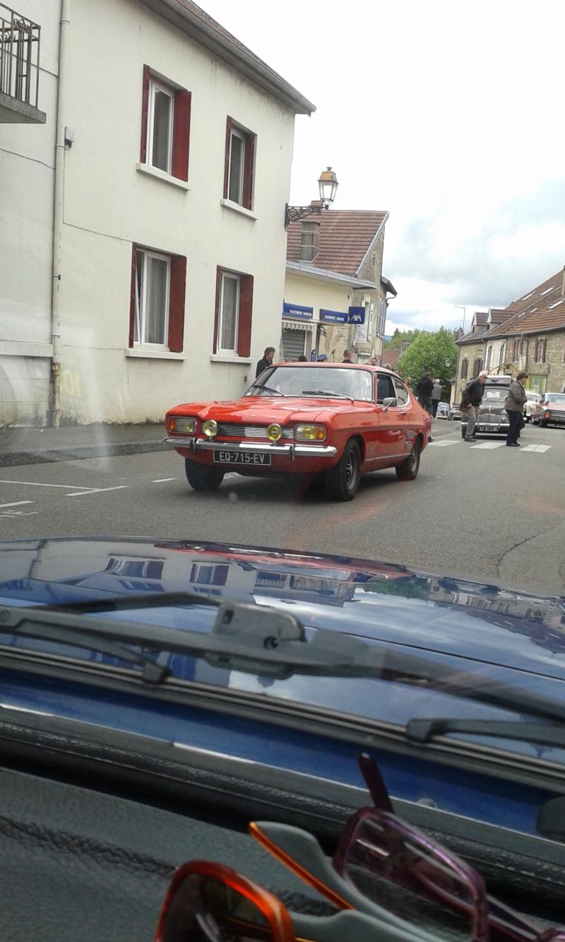 Embouteillage dans les rues de Rioz en Haute Saone 20190523