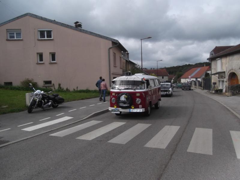 Embouteillage dans les rues de Rioz en Haute Saone Dscf2219