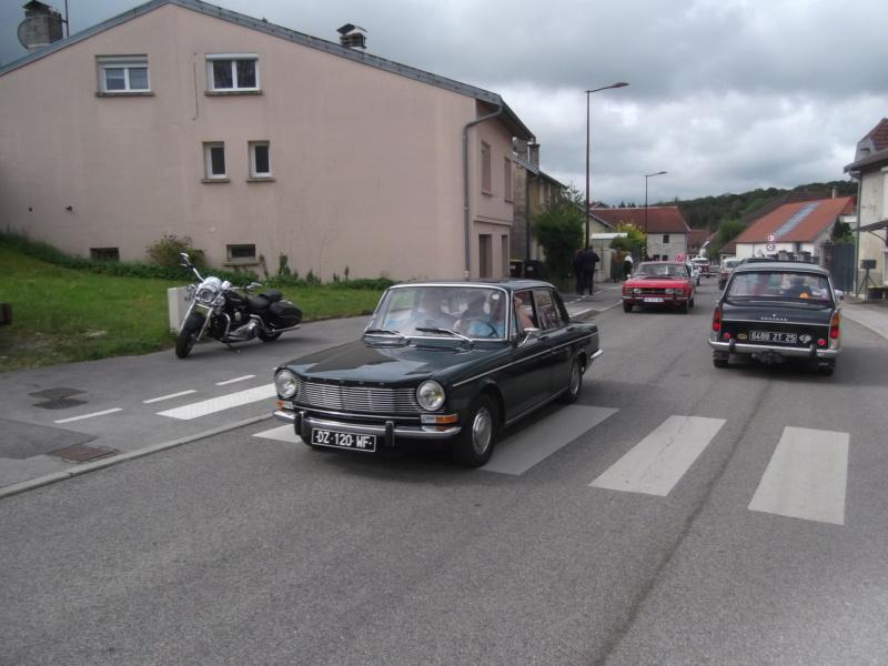 Embouteillage dans les rues de Rioz en Haute Saone Dscf2220