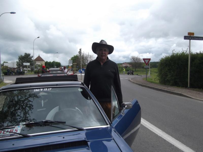 Embouteillage dans les rues de Rioz en Haute Saone Dscf2222