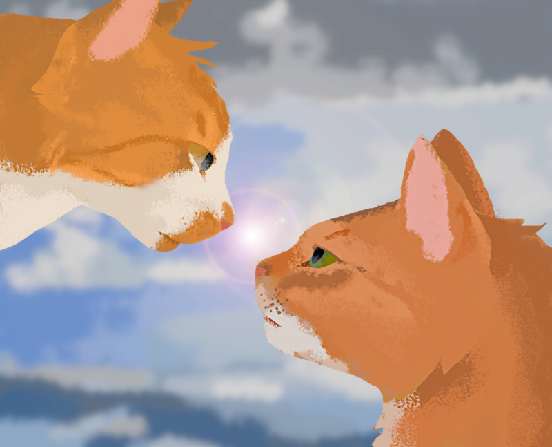 let me draw your kitties for you pt. 2 (digital edition) Finchx10